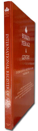 Volume 1 International Register of Arms