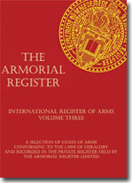 Volume 3 The Armorial Register - International Register of Arms